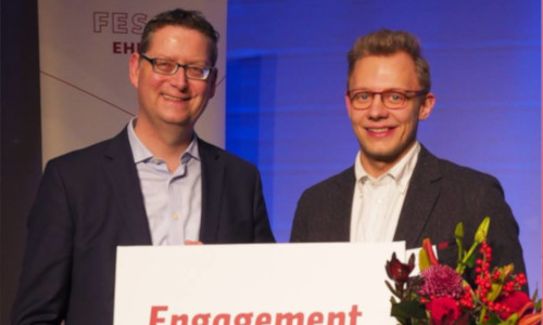 Civic engagement prize of the Friedrich-Ebert-Foundation Alumni