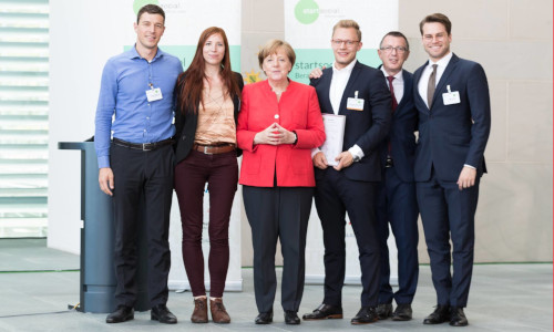 National Selection of the startsocial initiative under the patronage of chancellor Angela Merkel